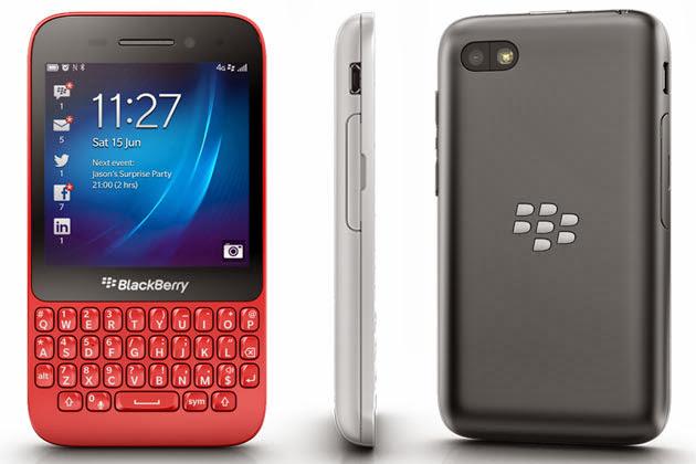 Spesifikasi Dan Harga BB Blackberry Q5 Terbaru