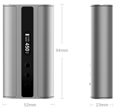 iStick 100W TC Mod Features Everthing