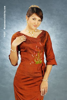 Myanmar Famous Model and Actress