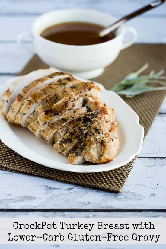 How to Cook a Turkey Breast in the Crockpot and Lower-Carb and Gluten ...