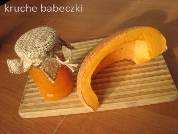 Dżemik z dyni i galaretki pomarańczowej