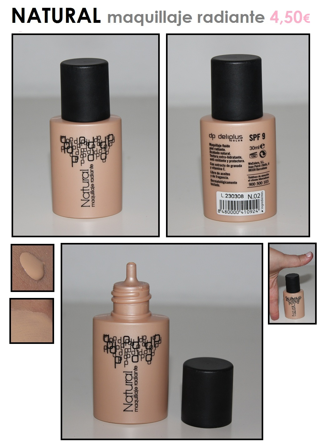base maquillaje deliplus