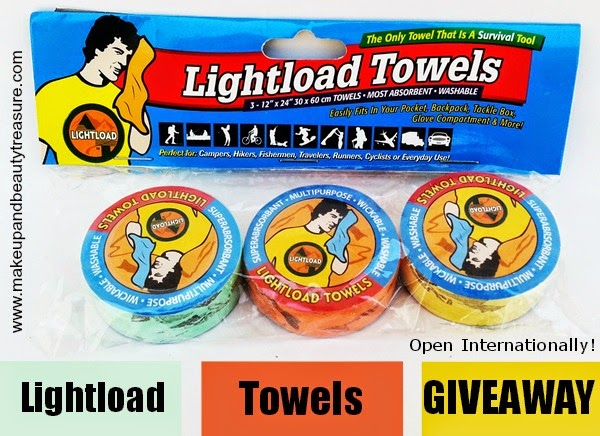 Enter Lightload Towels Giveaway