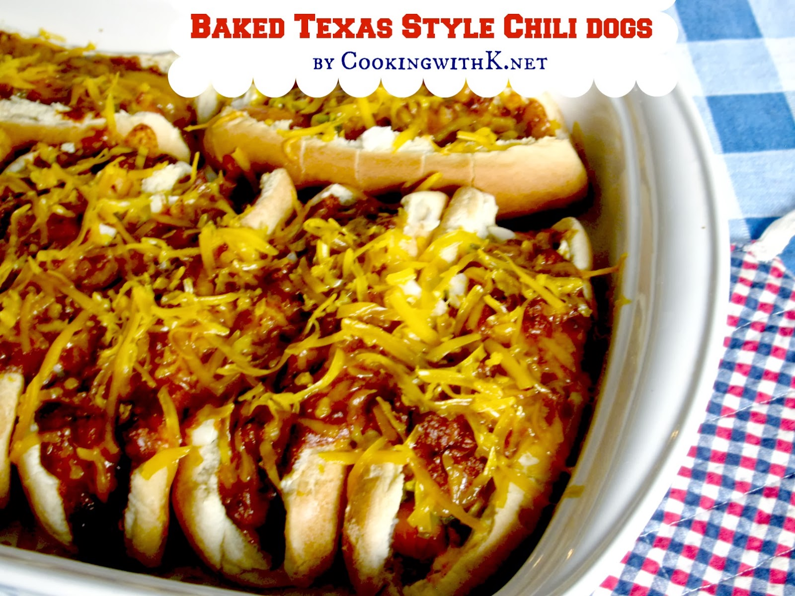 Baked Chili Dogs