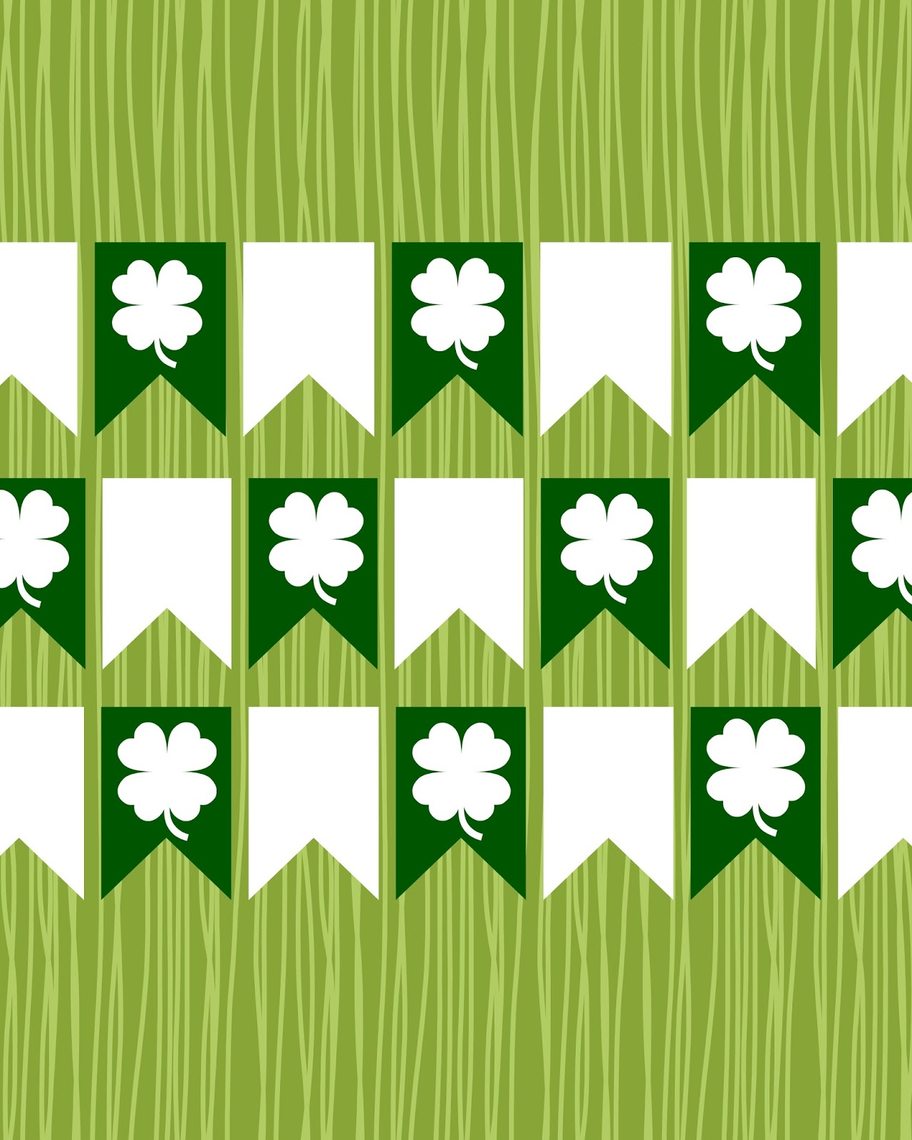 FREE St. Patrick's Day Printables from Peachy Keen