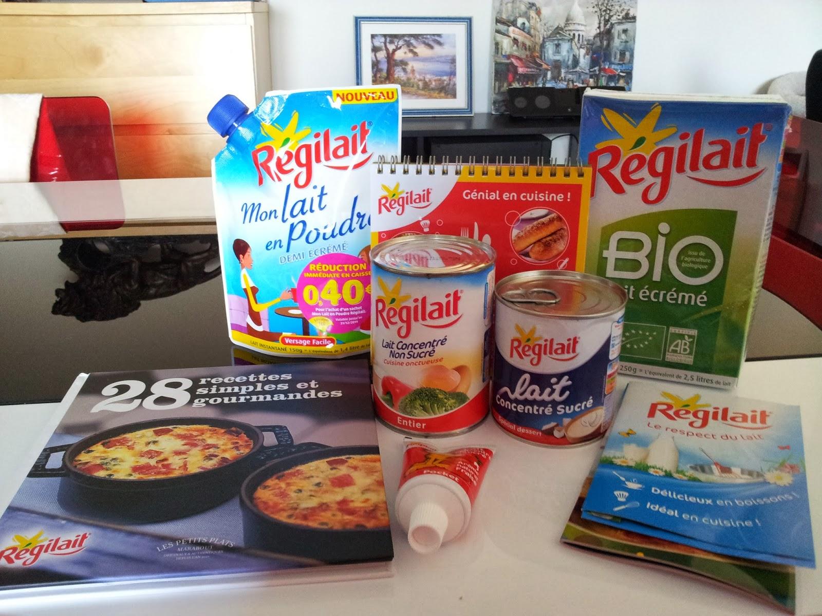 Colis r gilait blogs de cuisine for Regilait cuisine