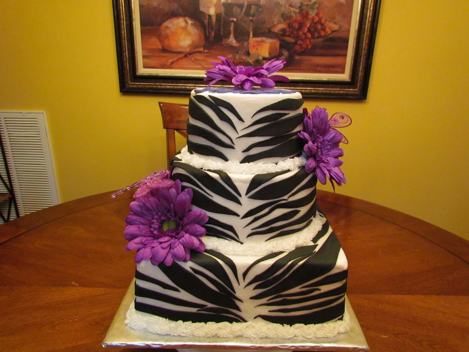Birthday Cakes Inspirational Zebra At Walmart