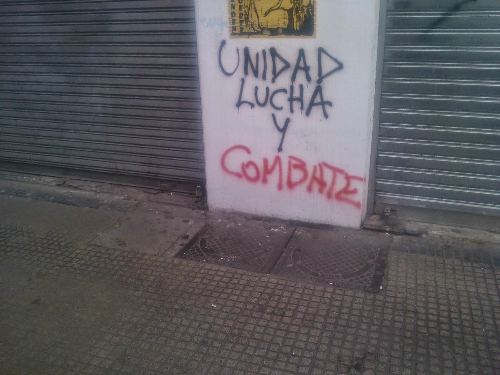 UNIDAD, LUCHA Y COMBATE!!