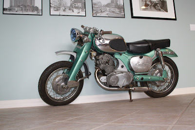 1965 Honda Dream 305 Custom Cafe Groosh S Garage