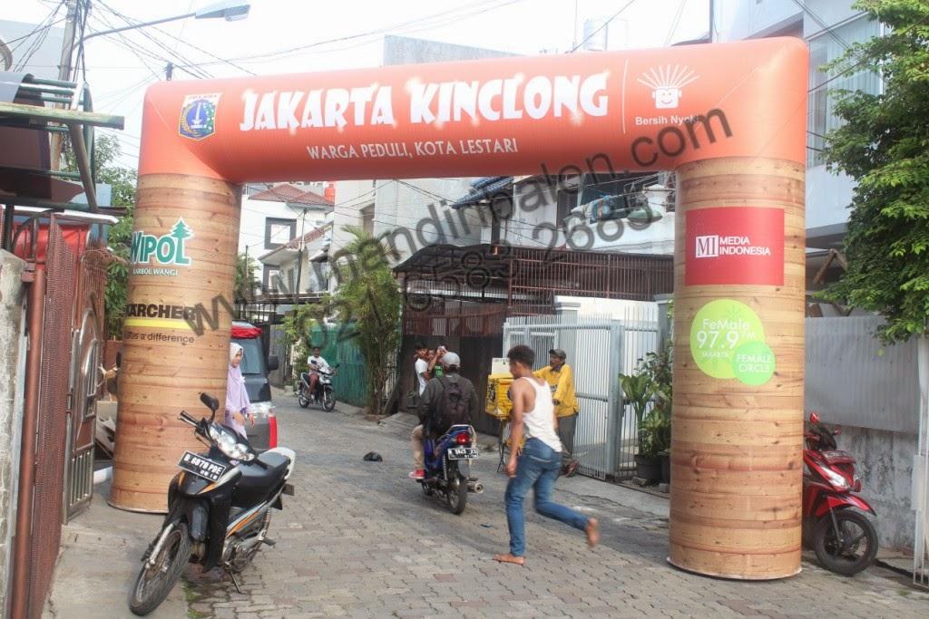 Gate Balon Jakarta Kinclong