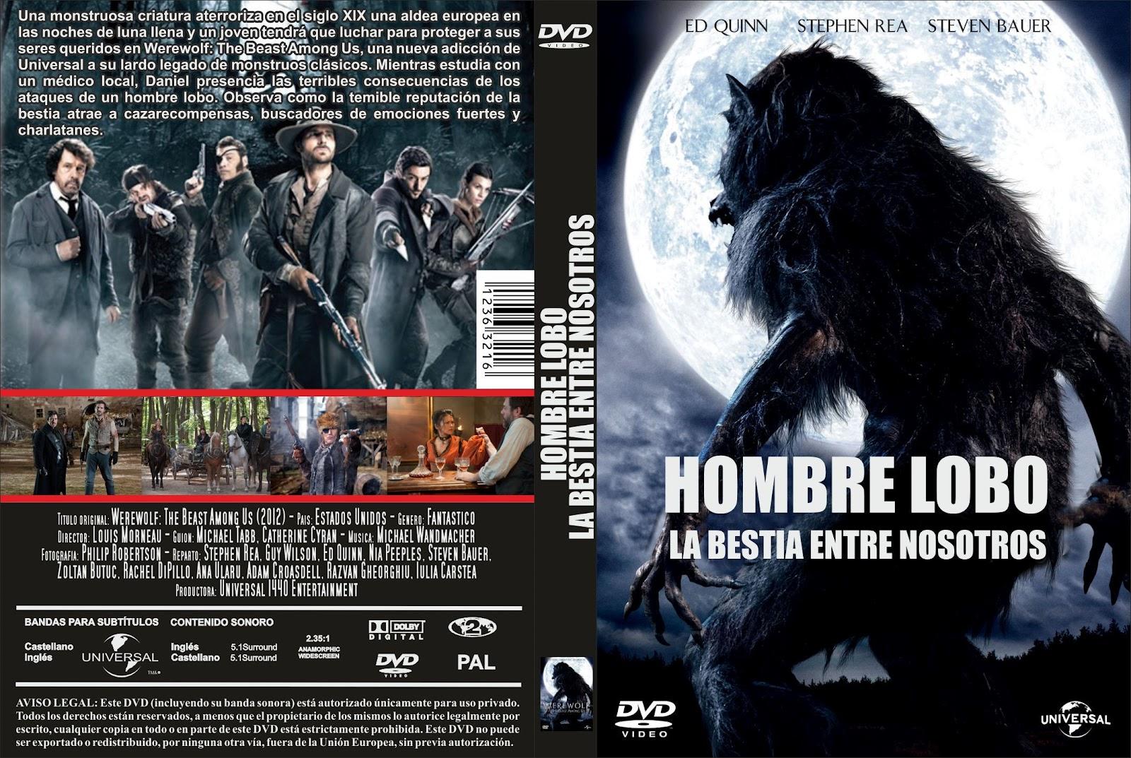 werewolf hombre lobo la bestia entre nosotros castellano