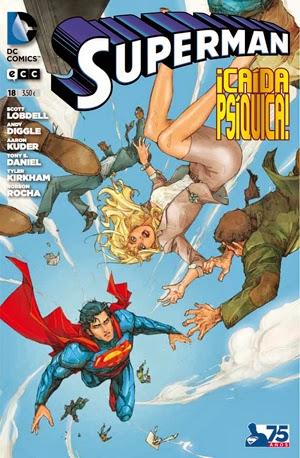 Superman 18 - Caída Psíquica
