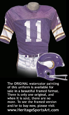Minnesota Vikings 1976 uniform