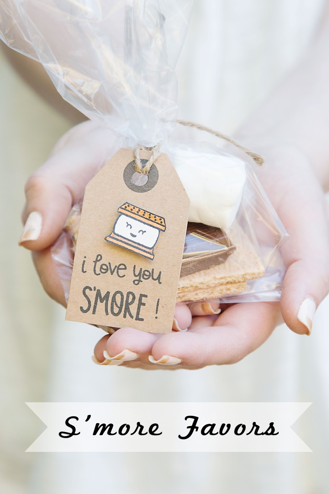 Lawn Fawn Smore Favors @craftsavvy @createoften #diy #party #favors #smores #glamping