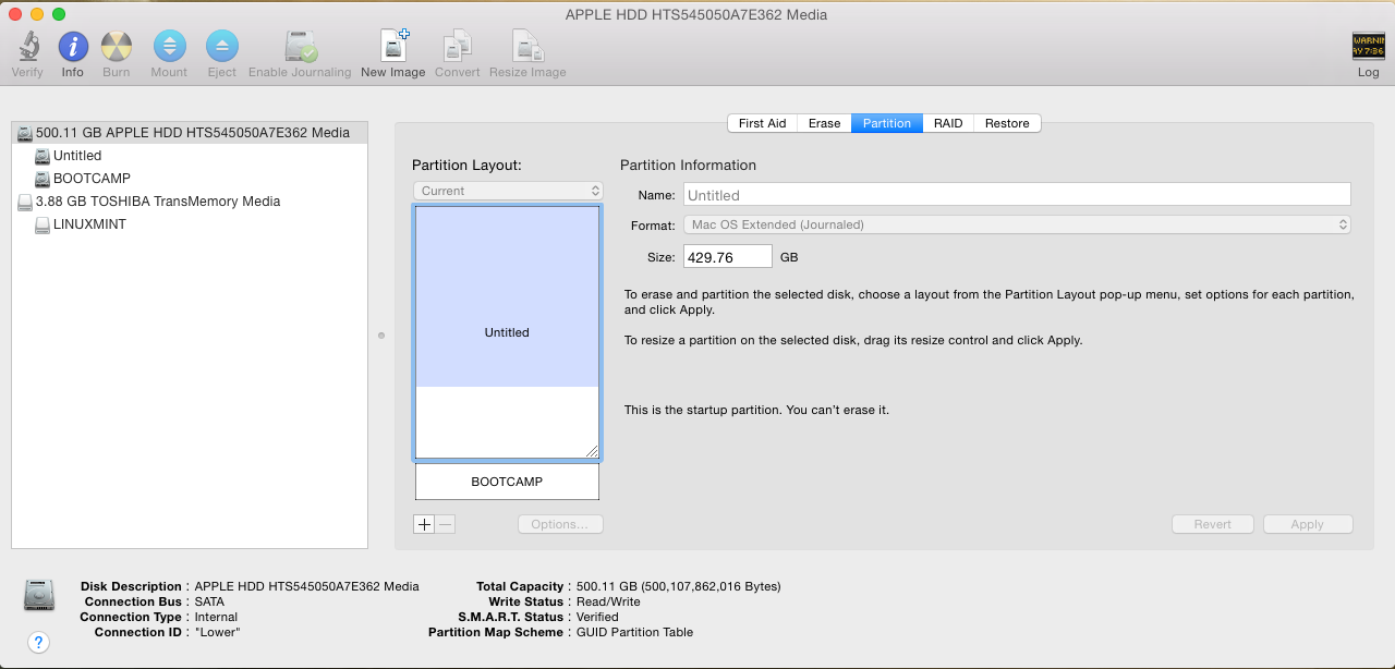 Linux in Mac Mini
