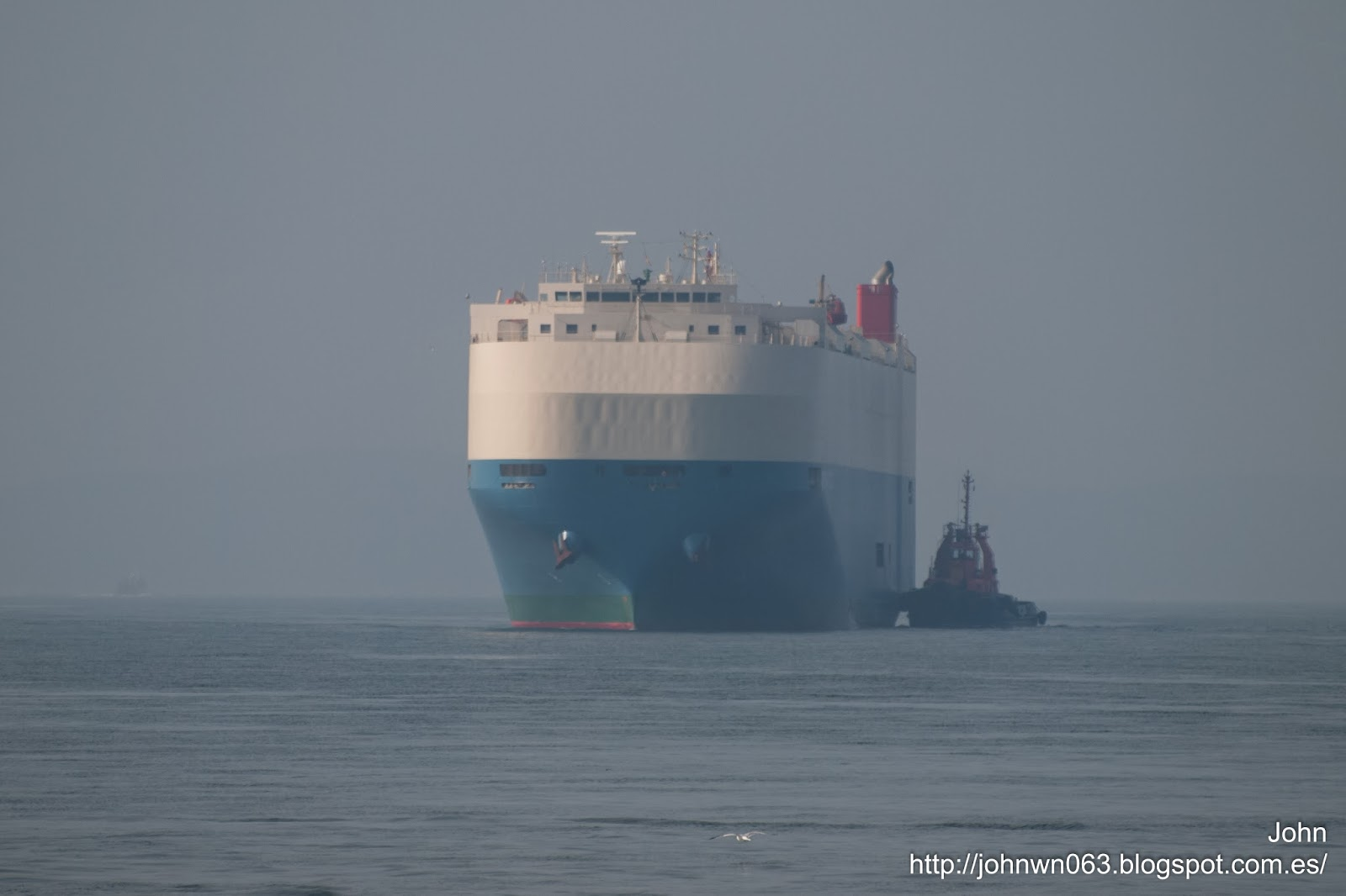 mermaid ace, ro-ro, fotos de barcos, vehicles carrier, bouzas