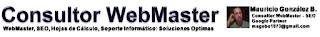 Consultor WebMaster