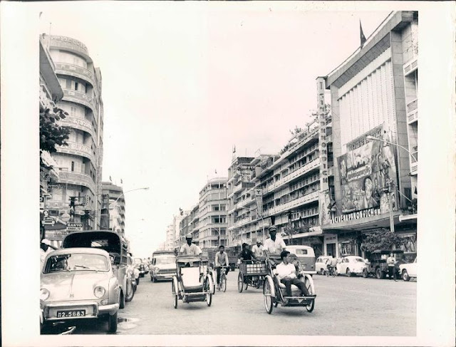 Phnom Penh dans les années 60