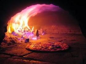 tradycyjna pizza w piecu