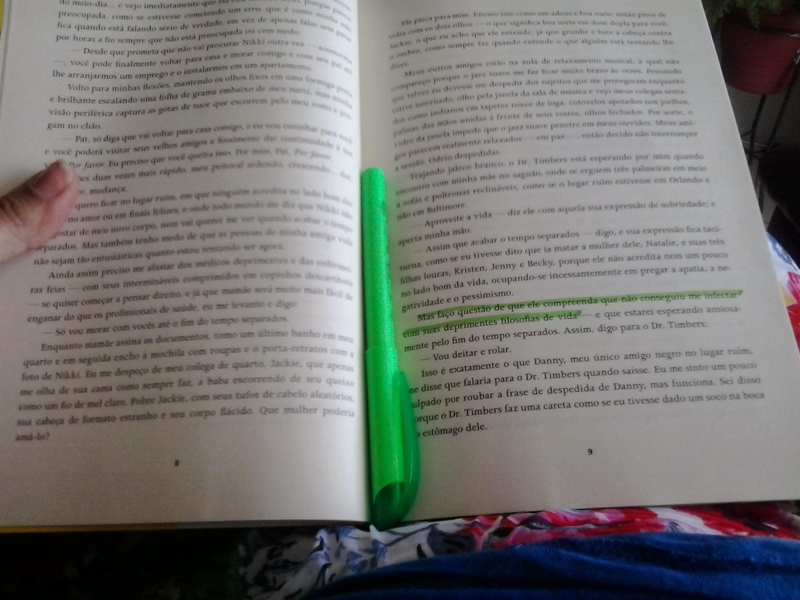 Sandra Falcão Livro O Lado Bom Da Vida