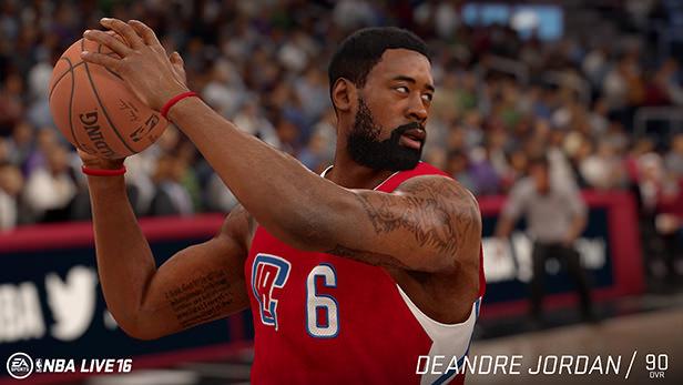 NBA Live 16 Deandre Jordan