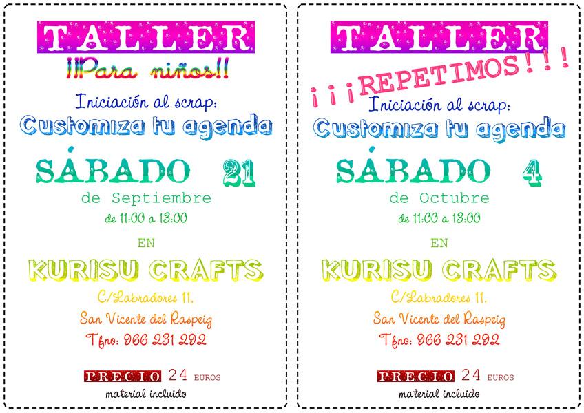 Repetimos taller customiza tu agenda dise o de marcas - Marcas de agendas ...