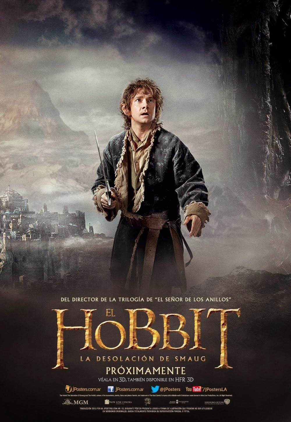 the hobbit movie news new international movie posters for