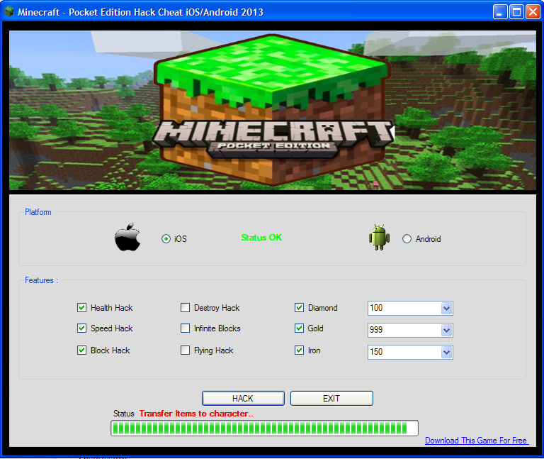 minecraft how to get hacks