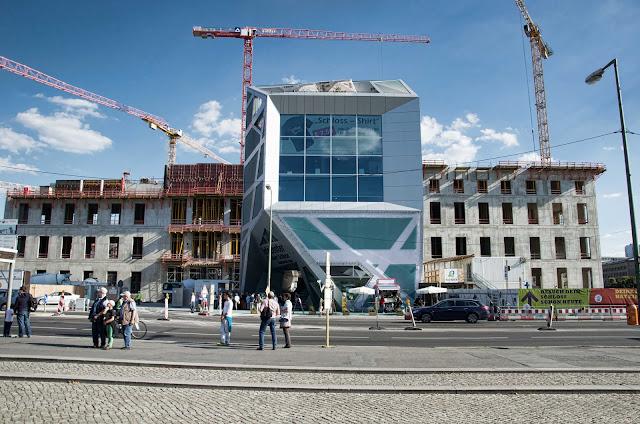 Baustelle Berliner Schloss, Stadtschloss, Schlossplatz, 10178 Berlin, 27.08.2014