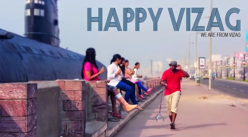 Pharrell Williams HAPPY VIZAG,happy vizag