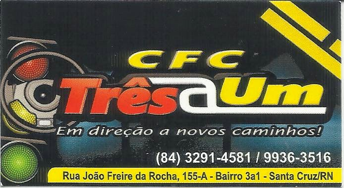 CFC TRÊS@UM  -  SANTA CRUZ-RN