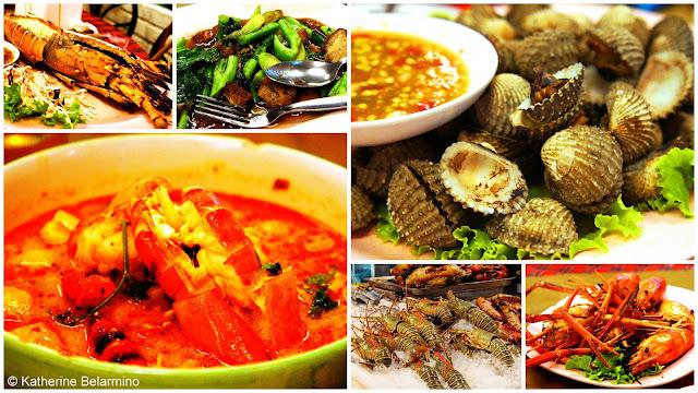 Mho o cha Seafood Anusarn Market Chiang Mai Thailand