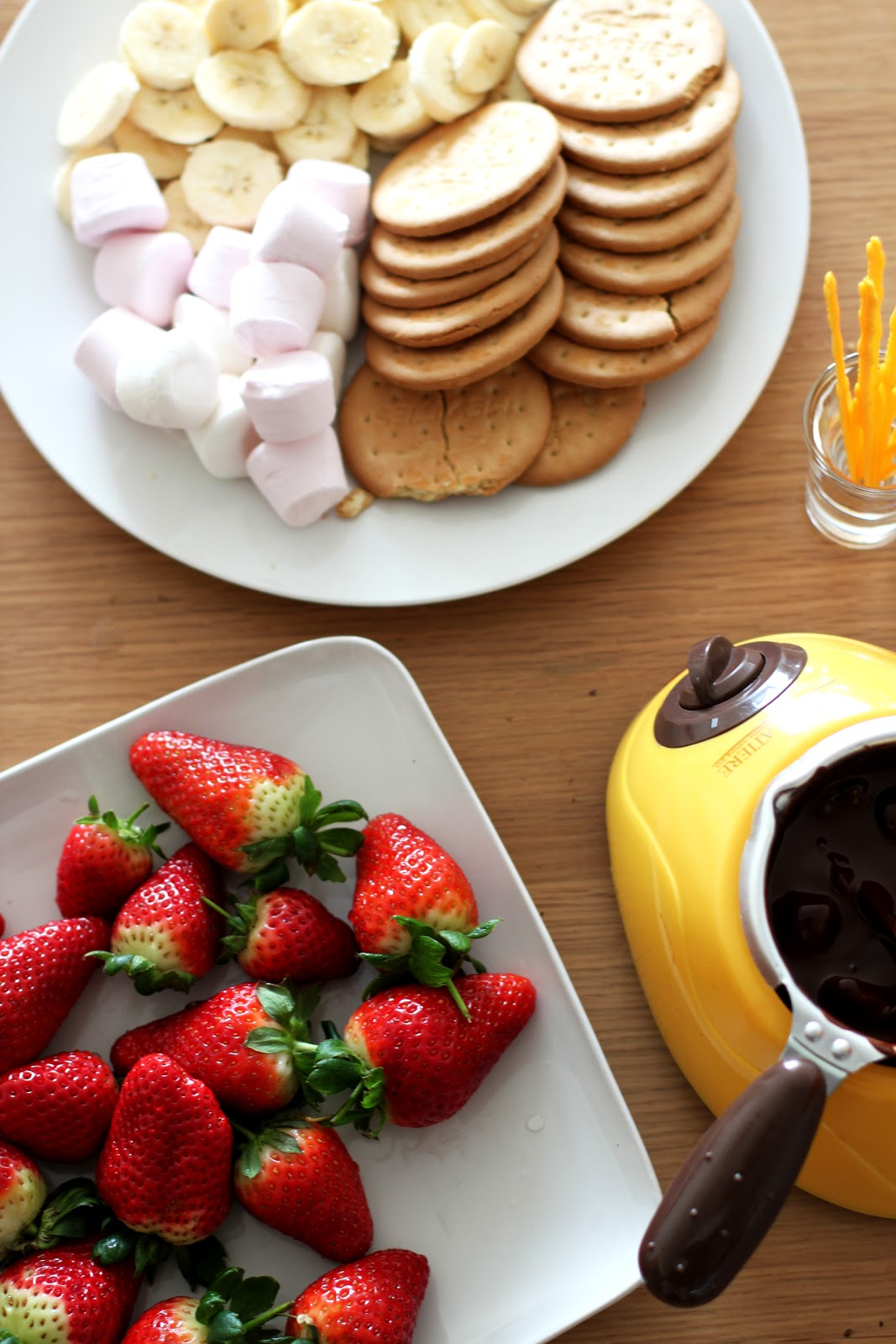chocolate fondue how to use