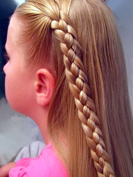 Секреты при плетении кос