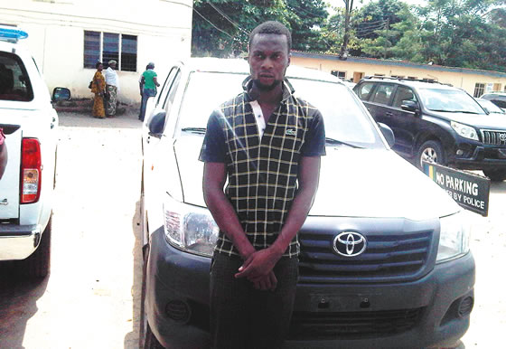 Driver Flees With Company's Car After N25,000 Deductions From His Salary