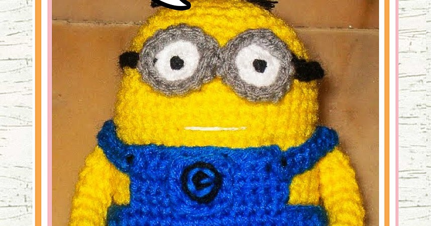 Amigurumi Free Patterns Minions : Despicable me minion crochet pattern free snacksies handicraft