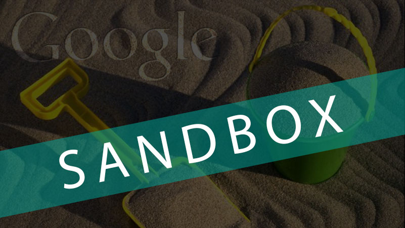 How to get out google sandbox