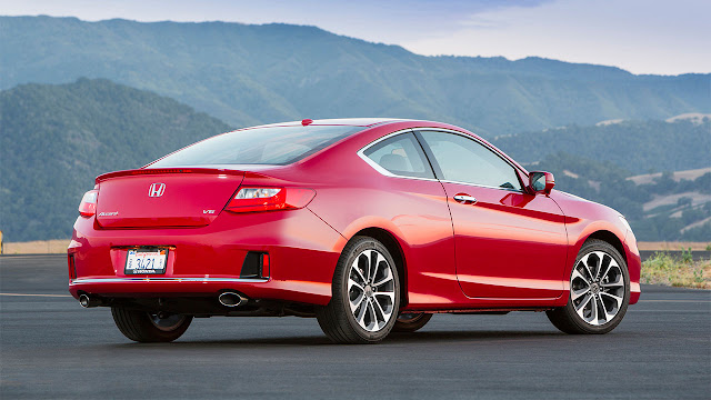 2013 Honda Accord EX-L V-6 Coupe rear