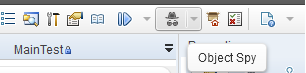 Launch object spy from menu bar