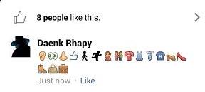 Cara Membuat Status Komentar Menggunakan Emo di Fb Via Ponsel