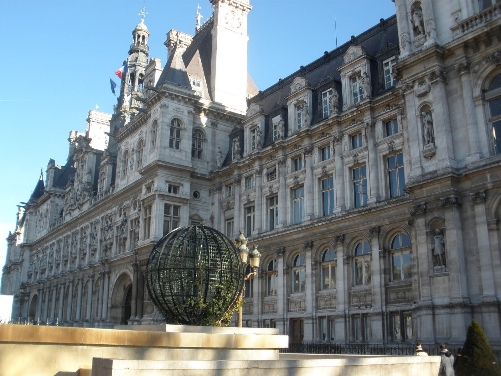Ilovetravels Happy New Year From Paris Hotel De Ville