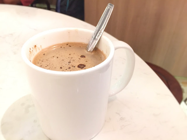 ChaoZhou Porridge - Hot Chocolate