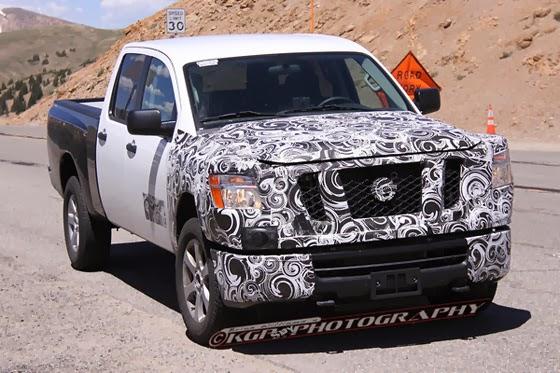 2016 Nissan Titan Diesel 2016 nissan titan debut