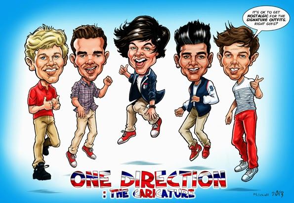 One direction the caricature excelsior speaks one direction the caricature voltagebd Images