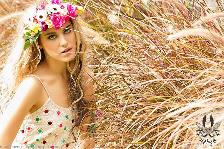 Moda primavera verano 2015, colección Sophya 2015.