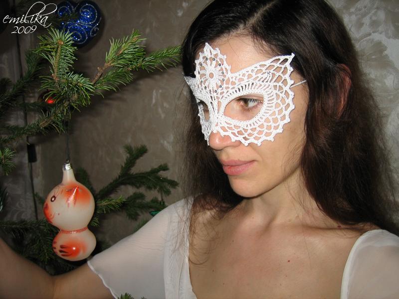 Маскарадные маски для девушки своими руками 16
