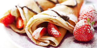 Resep Cara Membuat Crepes Strawberry Coklat Paling Enak