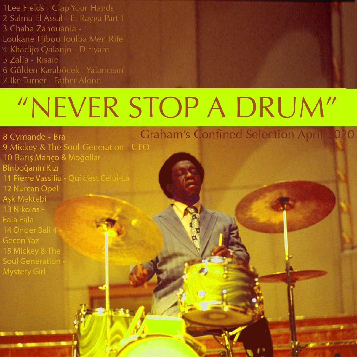 GRHM#17 - NEVER STOP A DRUM