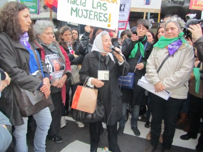 Jornada Nacional contra la violencia de género .Basta de Femicidios