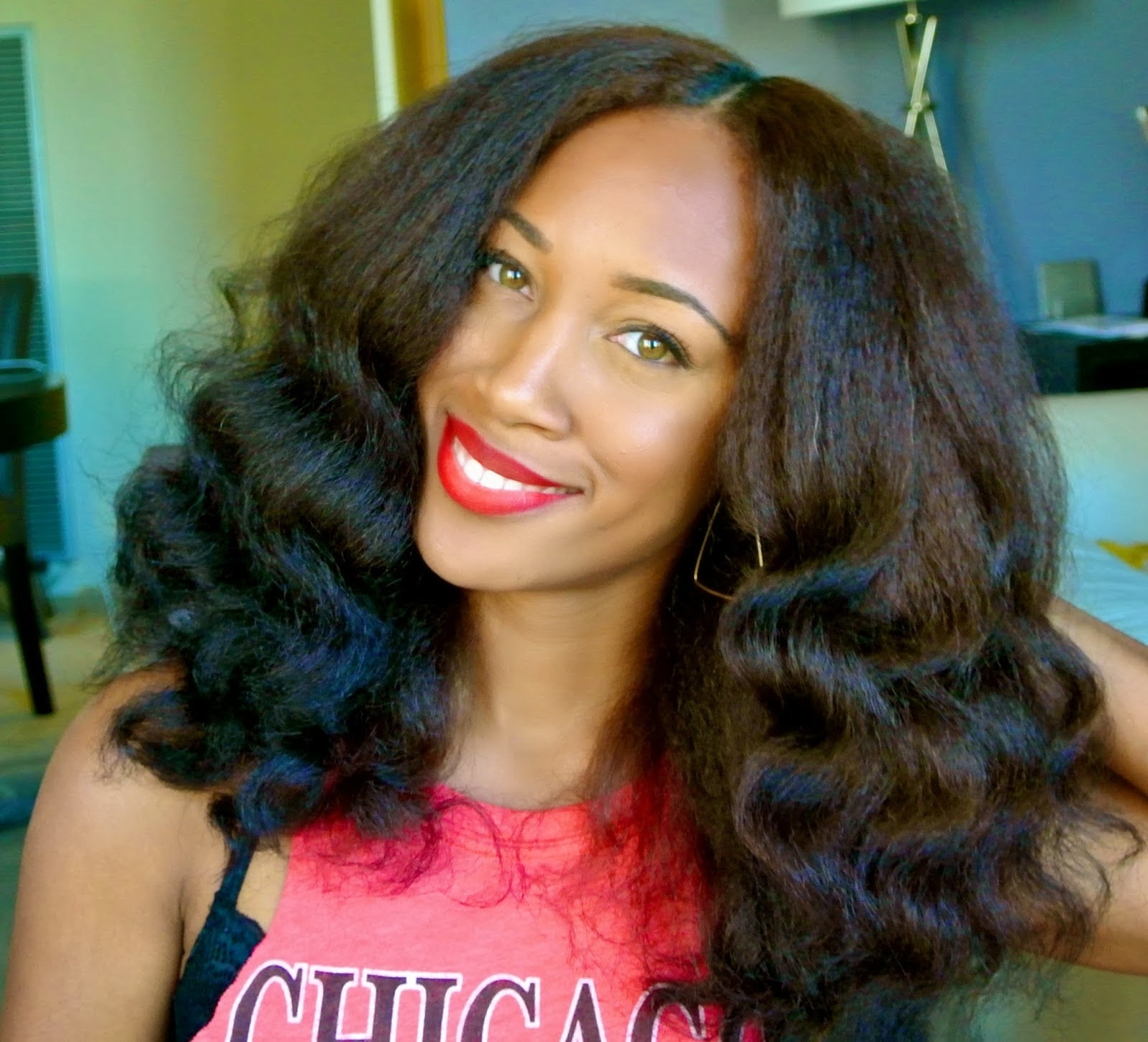 Nature Hair Style: Nikki Is Naturally Glam!